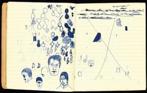 Murphy: Samuel Beckett, Murphy working manuscript