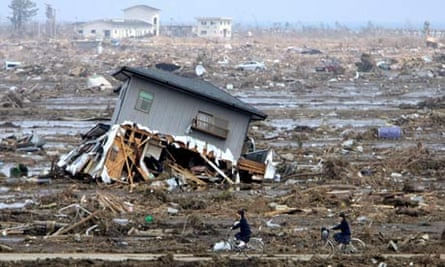 Aftermath of the earthquale and tsunami