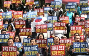 24 hours in pictures: Korea Freedom Federation