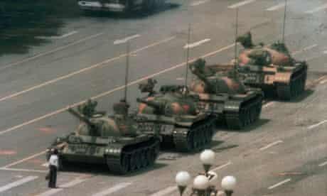 AP tank man Tiananmen Square