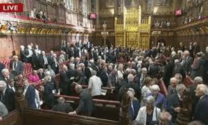 Peers voting on gay marriage