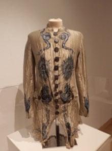 A dress with masonic symbolism by John Galliano
