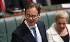 The opposition environment spokesman, Greg Hunt. Photographer Mike Bowers