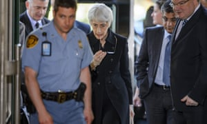 Wendy Sherman, US undersecretary of state for political affairs, arrives in Geneva for a preparatory meeting for a proposed international conference on the conflict in Syria.