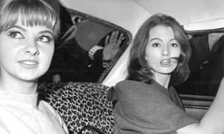 Christine Keeler and Mandy Rice-Davies