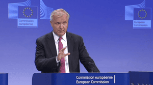 Olli Rehn, announcing Latvia may join the euro from January 2014