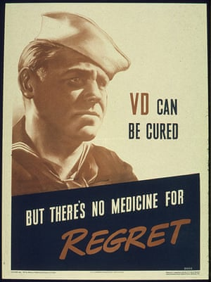 WWII STD Posters: VD can be cured
