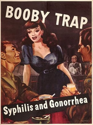 WWII STD Posters: Booby trap