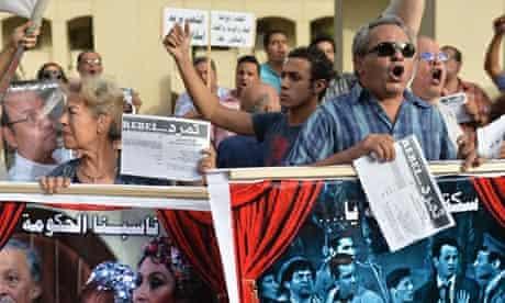 Egyptian employees of the Cairo Opera Ho