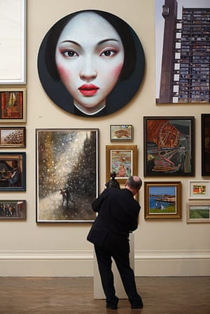 Summer Show: A visitor looks at art in the Royal Academy's Summer Exhibition