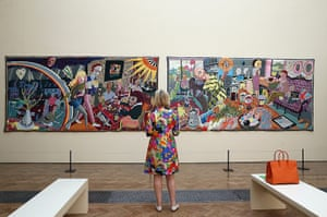 Summer Show: Two of six new tapestries by Turner Prize winning artist Grayson Perry RA