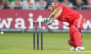 Jos Buttler: all in the footwork.