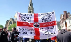An English Defence League march