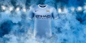 2013/14 kits: Manchester City Home Kit