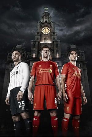 2013/14 kits: Liverpool home kit