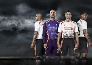 2013/14 kits: Liverpool away kit