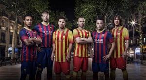 2013/14 kits: Barcelona kit