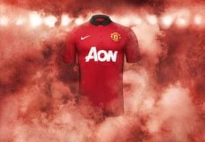 2013/14 kits 2: Manchester United shirt