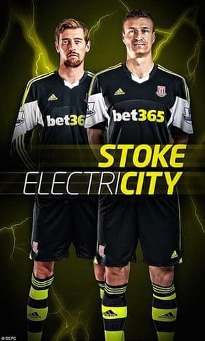 2013/14 kits 2: Stoke City away kit