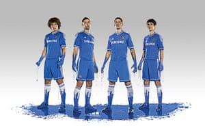 2013/14 kits 2: Chelsea home kit