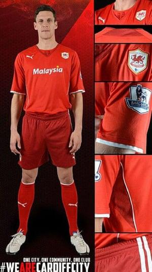 2013/14 kits 2: Cardiff