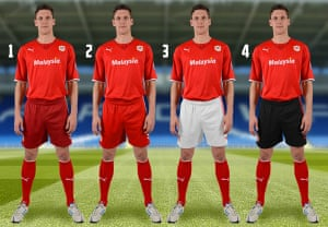 2013/14 kits 2: Cardiff City kit