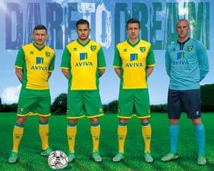 2013/14 kits 2: Norwich City