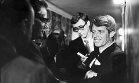 Robert F Kennedy in LA 5 June 1968, assassination