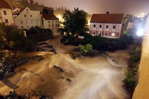 flooding: Floods in the Czech Republic