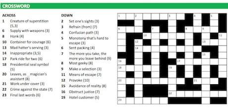 Crossword Blog The Short Film Crosswords Crosswords The Guardian