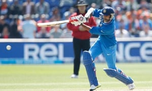 Shikhar Dhawan in glorious action on his way to a hundred.