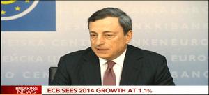 Mario Draghi, 6th June 2013