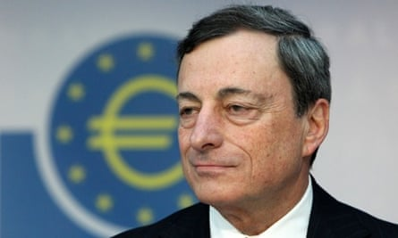 Mario Draghi, President of the European Central Bank, refused to admit the ECB made mistakes in the Greek bailout.