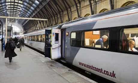 An East Coast train