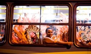 bus in Rio