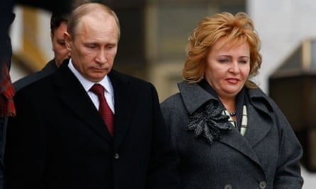 Vladimir Putin And His Wife Announce Their Separation In Tv Interview Vladimir Putin The Guardian