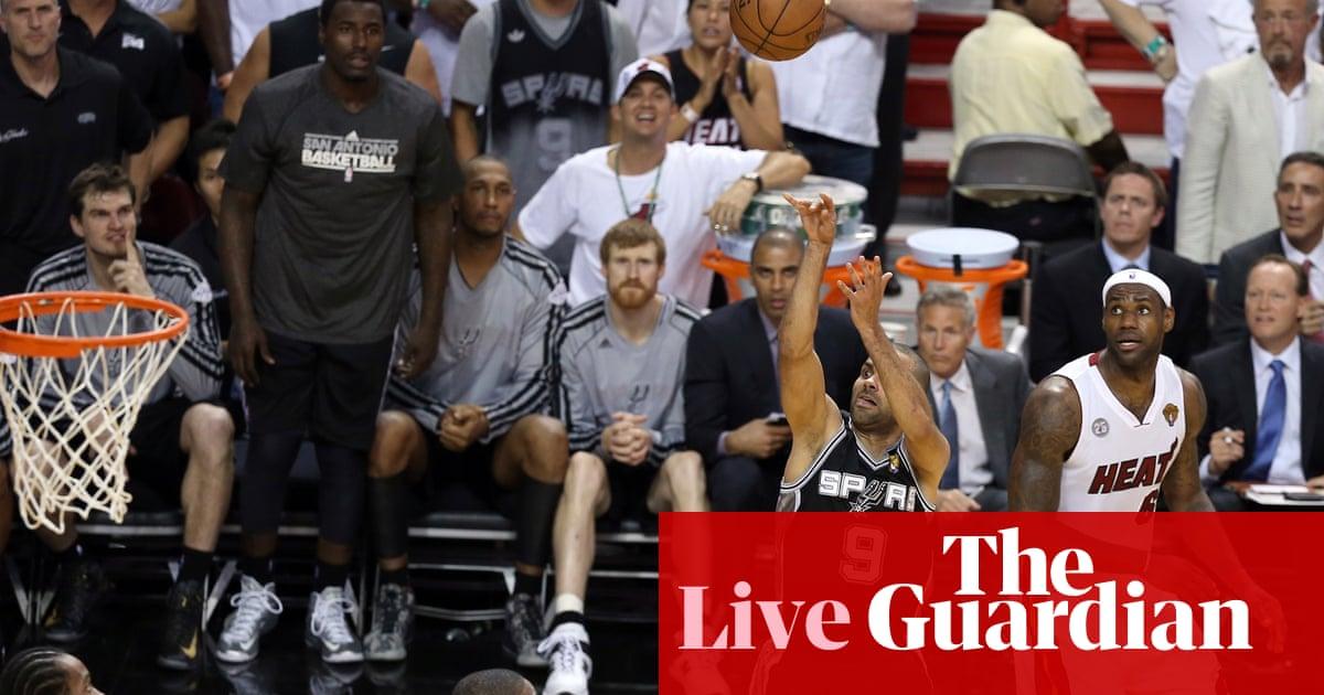 1b1e2c545 San Antonio Spurs 92-88 Miami Heat - as it happened!