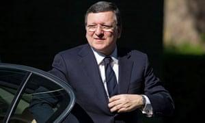 José Manuel Barroso in London