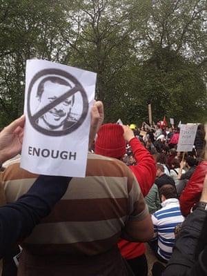 Turkey demonstrations: turkish slogan example