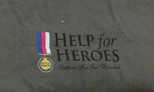 A Help for Heroes T-shirt