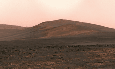 Solander Point outcrop on Mars