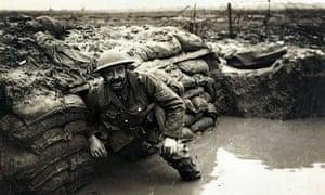 World War I western front