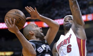 Tony Parker and the San Antonio Spurs will be looking to take a 2-0 series lead over LeBron James and the Miami Heat tonight in Game 2 of the NBA Finals.