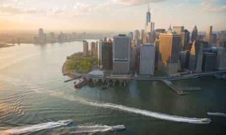 Aerial Shot Of New York City