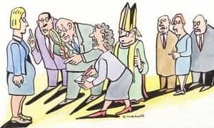 Andrzej Krauze pregnancy illustration