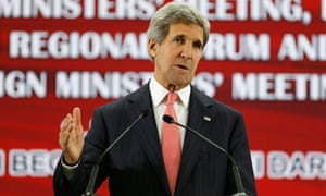 John Kerry in Brunei