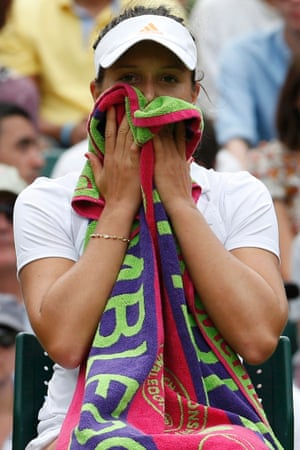 Sadly for Laura Robson her match against Kaia Kanepi of Estonia has ended her championship hopes for this year, losing three sets.