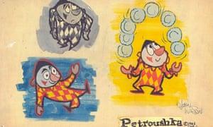 John D Wilson's designs for Petroushka