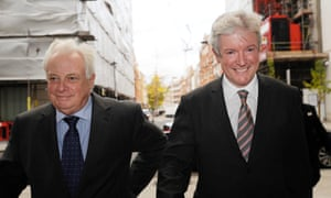 Lord Patten and Tony Hall