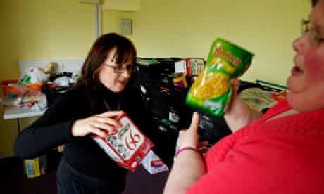 Food bank in Doncaster